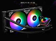브라보텍, Addressable RGB LED 수냉 쿨러 DEEPCOOL CAPTAIN 240 PRO 출시 및 사은품 이벤트 진행