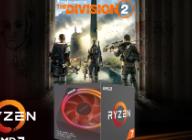 AMD 코리아 CPU 세일즈팀, 2세대 라이젠 프로세서 구매자 대상 '톰 클랜시의 디비전 2' 번들 프로모션 진행