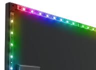 브라보텍, 모니터용 RGB 조명 솔루션 NZXT HUE2 RGB AMBIENT V2 LIGHTING KIT 출시